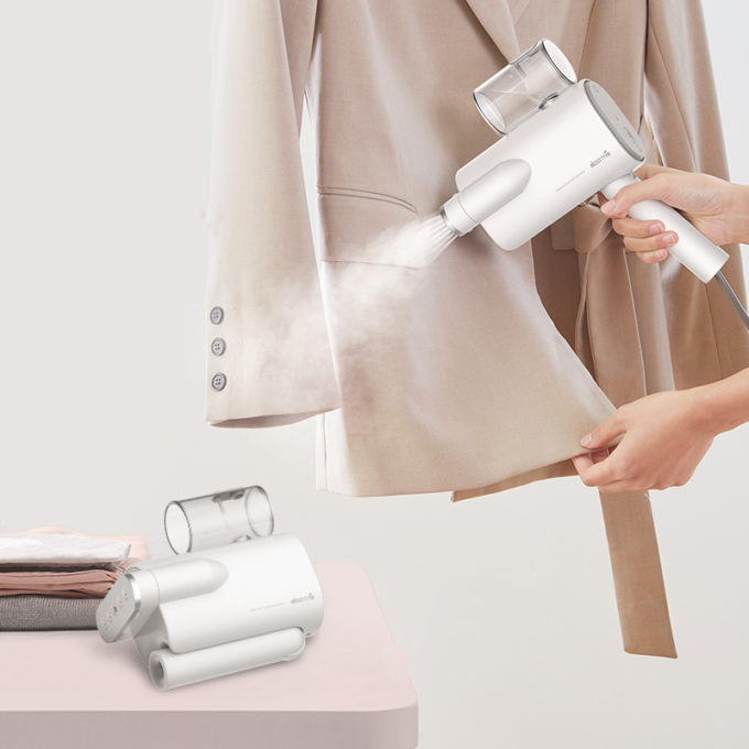 Deerma DEM-HS011 Handheld Household Steam Iron Folding Portable Mini Ironing Machine from Xiaomi Eco-system-Bag Package